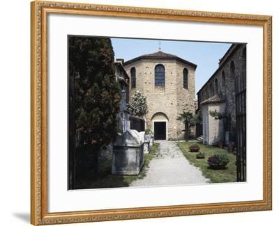 Baptistery of the Basilica of St Euphemia, Late 5th Century, Grado, Friuli-Venezia Giulia, Italy--Framed Photographic Print