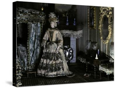 Dollhouse (1670-1690) from Petronella De La Court (1624-1707). Anonymous. Netherlands--Stretched Canvas Print