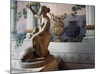 Statue of Diana, Gallery of Statues, Ducal Palace, Lucca, Tuscany, Italy--Mounted Photographic Print
