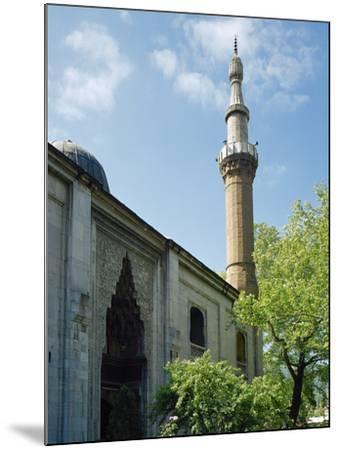 Turkey. Bursa. Yesil Mosque. Ottoman Style. 15th Century. Outside. View--Mounted Photographic Print