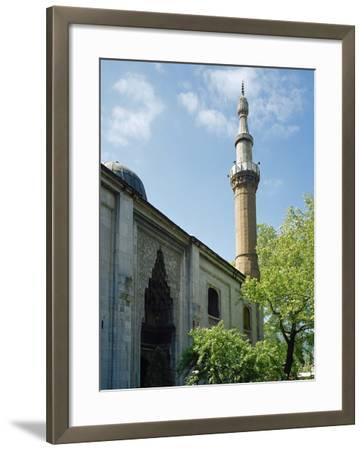 Turkey. Bursa. Yesil Mosque. Ottoman Style. 15th Century. Outside. View--Framed Photographic Print