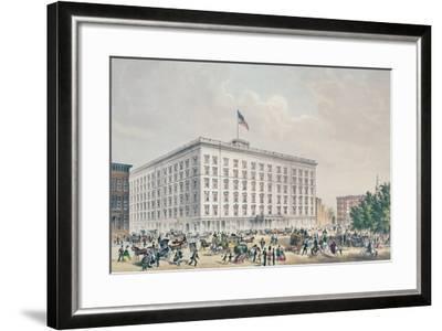 Fifth Avenue Hotel, New York--Framed Giclee Print
