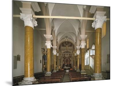 Interiors of a Church, Church of San Calogero, Agrigento, Sicily, Italy--Mounted Photographic Print