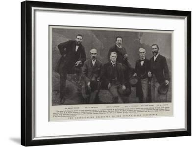 The Australasian Delegates to the Ottawa Trade Conference--Framed Giclee Print
