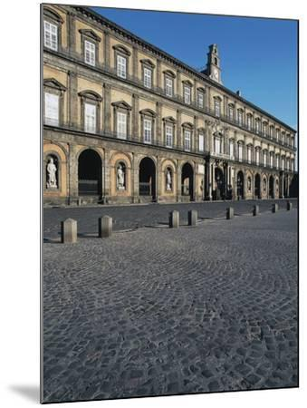 Facade of the Royal Palace, 17th Century, Square of the Plebiscite, Naples, Campania, Italy--Mounted Photographic Print