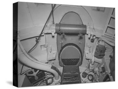 The Torpedo Loading Hatch in the after Torpedo Room on the Captured German Submarine U505--Stretched Canvas Print