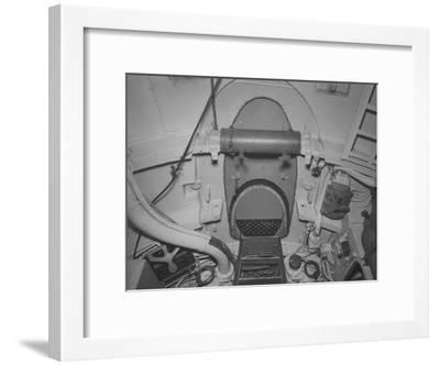 The Torpedo Loading Hatch in the after Torpedo Room on the Captured German Submarine U505--Framed Photographic Print