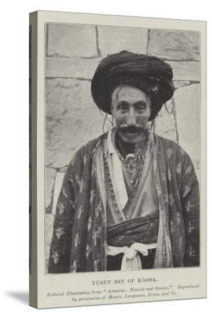 Yusuf Bey of Koshk--Stretched Canvas Print