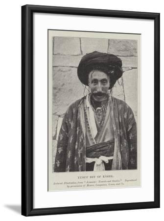 Yusuf Bey of Koshk--Framed Giclee Print
