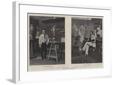 The New Royal Academicians--Framed Giclee Print