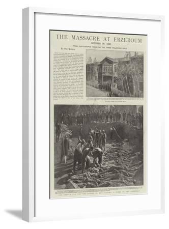 The Massacre at Erzeroum--Framed Giclee Print