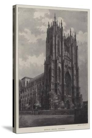 Beverley Minster, Yorkshire--Stretched Canvas Print