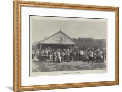 The Market House, Ladysmith--Framed Giclee Print