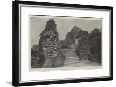 Launceston Castle, Cornwall--Framed Giclee Print