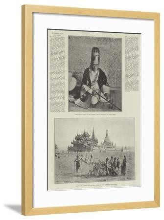 Burmese Past Royalty--Framed Giclee Print
