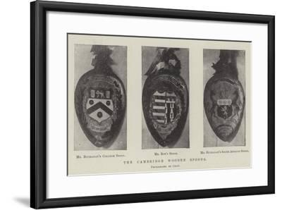 The Cambridge Wooden Spoons--Framed Giclee Print