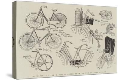 Novelties at the National Cycle Show at the Crystal Palace--Stretched Canvas Print