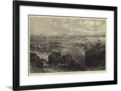 St John, New Brunswick, Partly Destroyed Last Week by Fire--Framed Giclee Print
