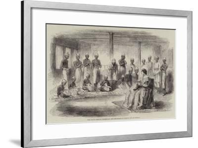 The David Sassoon Industrial and Reformatory Institution at Bombay--Framed Giclee Print