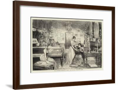 HRH Princess Christian at Home, the Boudoir, Cumberland Lodge--Framed Giclee Print