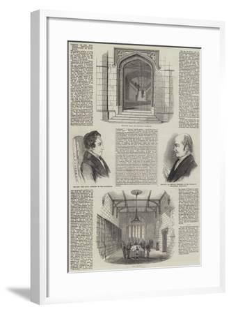 Opening of the Wesleyan Theological Institution, at Richmond--Framed Giclee Print