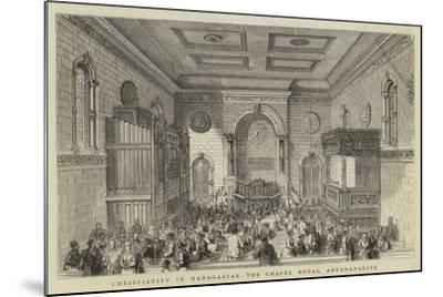 Christianity in Madagascar, the Chapel Royal, Antananarivo--Mounted Giclee Print