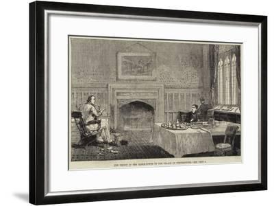 The Prison in the Clock-Tower of the Palace of Westminster--Framed Giclee Print