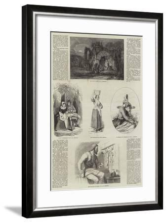 Exhibition of the New Society of Painters in Water Colours--Framed Giclee Print