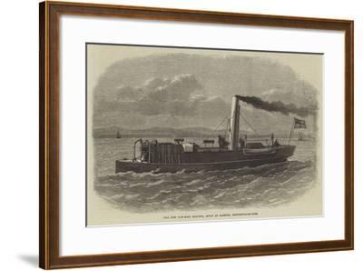 The New Gun-Boat Staunch, Built at Elswick, Newcastle-On-Tyne--Framed Giclee Print