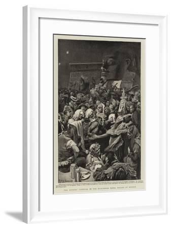 The Artists' Carnival in the Munchener Kindl Keller at Munich--Framed Giclee Print