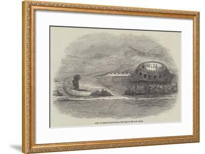 Fort at Tamatave, Madagascar, the Scene of the Late Affray--Framed Giclee Print