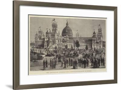 The Australian International Exhibition Building at Sydney--Framed Giclee Print