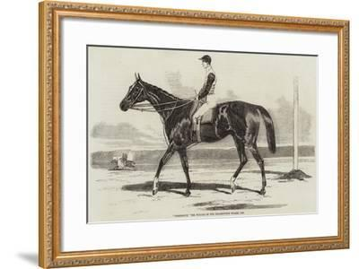 Vengeance, the Winner of the Cesarewitch Stakes, 1856--Framed Giclee Print