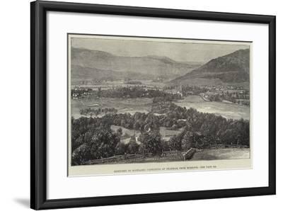 Sketches in Scotland, Castleton of Braemar, from Morrone--Framed Giclee Print