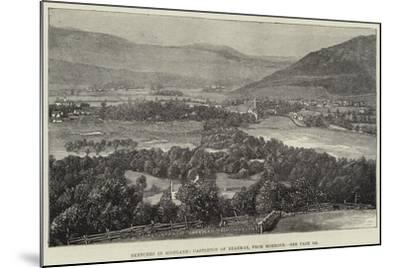 Sketches in Scotland, Castleton of Braemar, from Morrone--Mounted Giclee Print