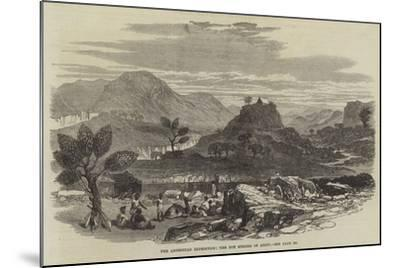 The Abyssinian Expedition, the Hot Springs of Ailet--Mounted Giclee Print