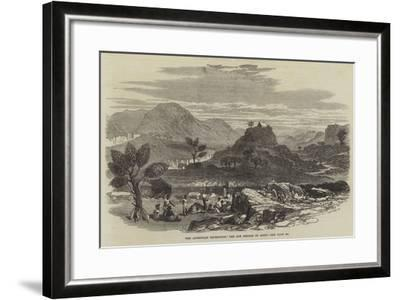 The Abyssinian Expedition, the Hot Springs of Ailet--Framed Giclee Print