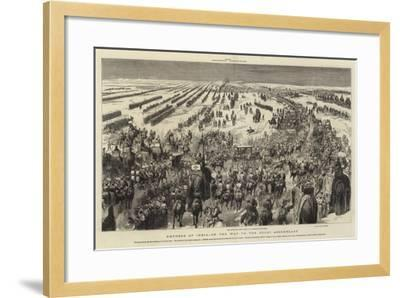 Empress of India, on the Way to the Delhi Assemblage--Framed Giclee Print