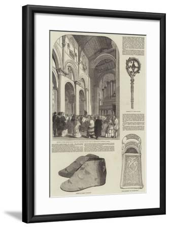 Anniversary Meeting of the Archaeological Institute--Framed Giclee Print