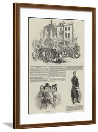The Twelfth Eisteddfod of the Abergavenny Cymreigyddion--Framed Giclee Print
