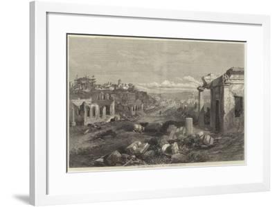 The Crimea Revisited, Ruins of the City of Sebastopol--Framed Giclee Print