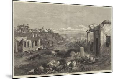 The Crimea Revisited, Ruins of the City of Sebastopol--Mounted Giclee Print