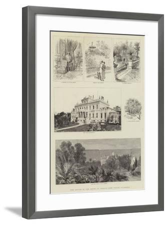 The Season in the South of France, Some Villas at Cannes--Framed Giclee Print