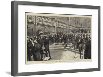 The Sydney International Exhibition, the Opening Ceremony--Framed Giclee Print