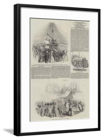 The Hospital for Consumption and Diseases of the Chest--Framed Giclee Print