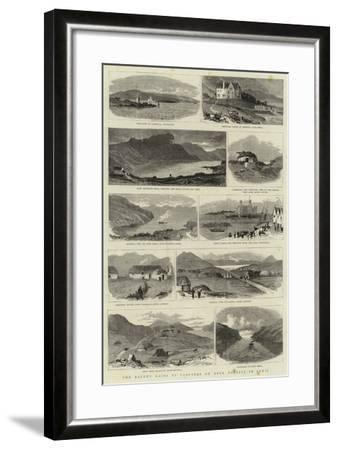 The Recent Raids by Crofters on Deer Forests in Lewis--Framed Giclee Print