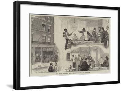 The New Soldiers' and Seamens' Home at Chatham--Framed Giclee Print