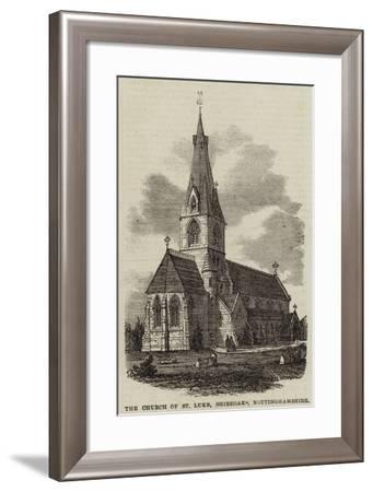 The Church of St Luke, Shireoaks, Nottinghamshire--Framed Giclee Print