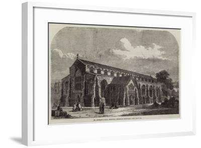 St Andrew's Hall, Norwich, Recently Restored--Framed Giclee Print