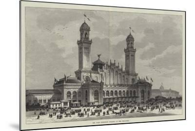 The Paris Exhibition Building at the Trocadero--Mounted Giclee Print